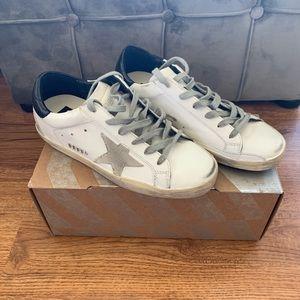 Golden Goose Superstar Sneakers 37-7 US . NIB!